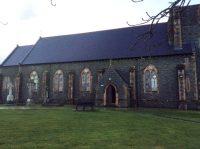 St. Patrick's Church Legamaddy - Refurbished Side Elevation