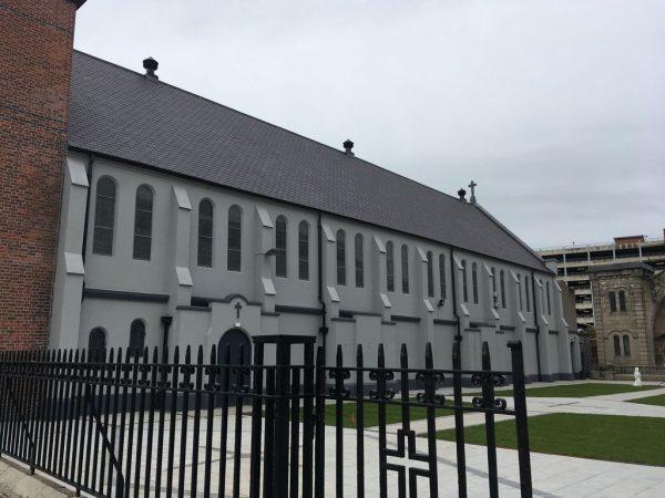 St Mary's Church, Belfast - Refurbished Side Elevation