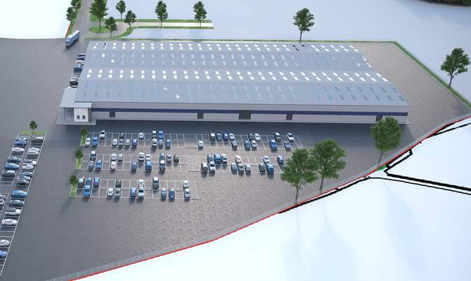 Project Management & Design of New 10,000m2 Factory Development